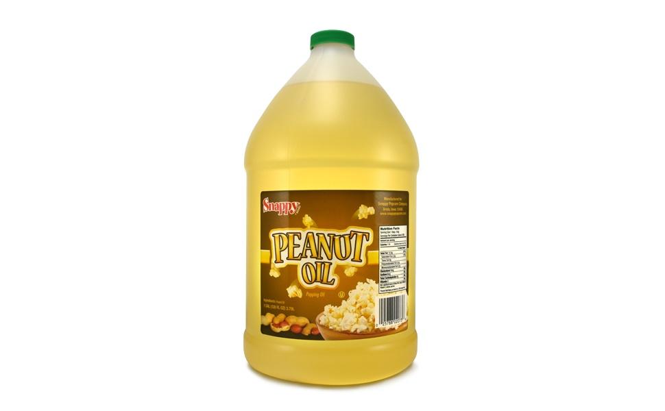 snappy pure peanut oil for popcorn