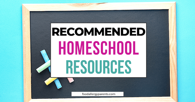 beginner-homeschool-books-kindergarten-food-allergy-parents-featured-image