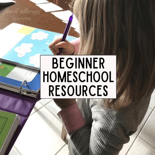beginner-homeschool-resources-food-allergy-parents