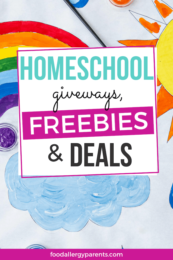 best-homeschool-freebies-deals-giveaways-2020-food-allergy-parents-pinterest
