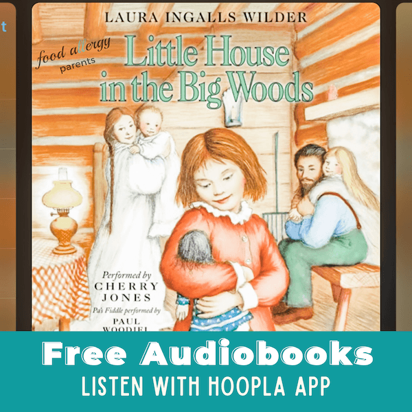free-audiobooks-for-kids-homeschool-food-allergy-parents