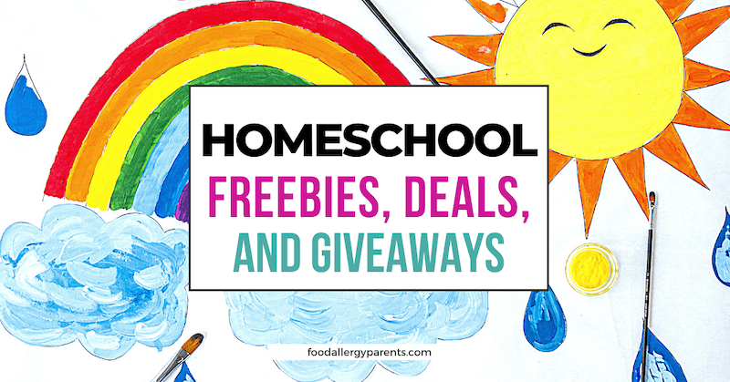 homeschool-freebies-deals-giveaways-food-allergy-parents-featured-image