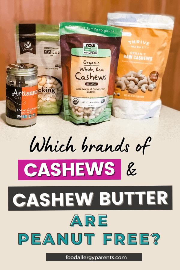 cashew-brands-peanut-free-food-allergy-parents-pinterest