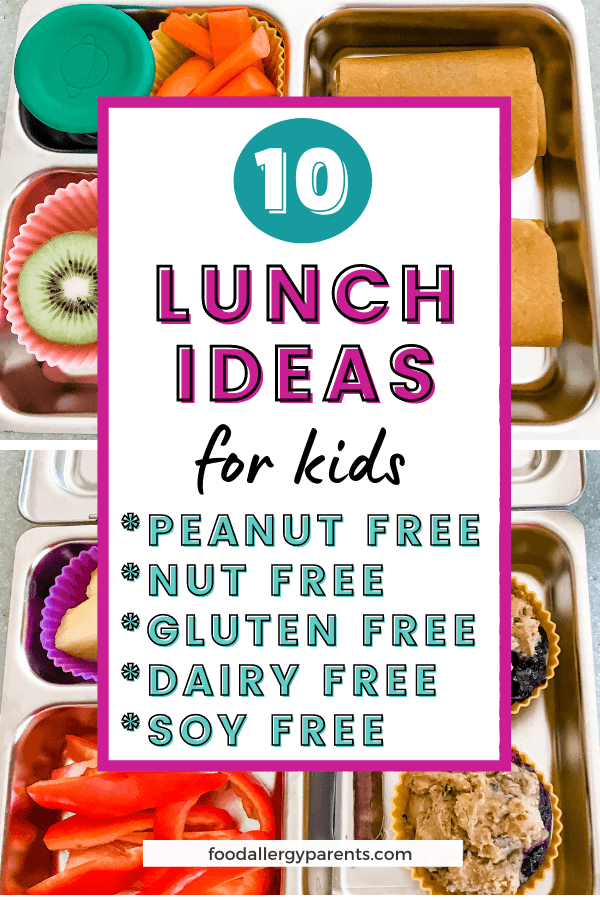 allergy-free-lunch-ideas-for-kids-free-from-gluten-dairy-nuts-peanuts-soy-food-allergy-parents-pinterest