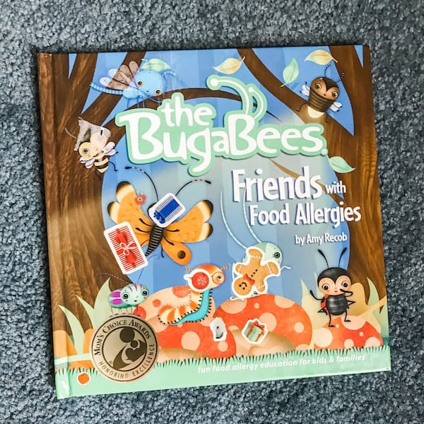 Bugabees-friends-with-food-allergies-childrens-book-teach-about-allergies-food-allergy-parents