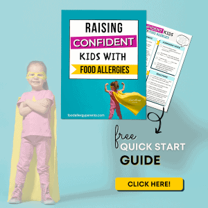 600x600 raising confident kids with food allergies sign up image