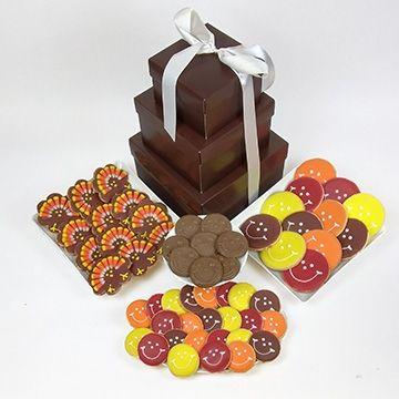 nut-free-thanksgiving-cookie-basket-candycorn-acopia_turkey-smiley-cookie