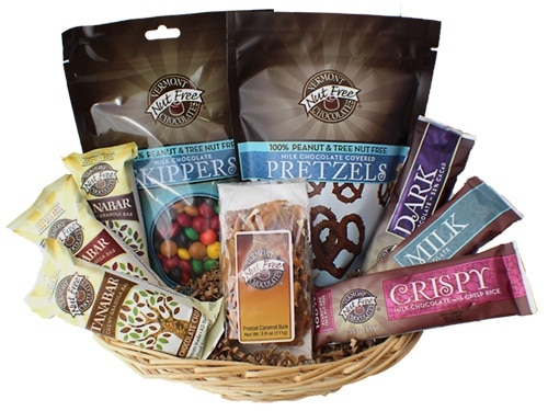 vermont-nut-free-peanut-free-gift-basket-best-sellers-food-allergy-parents