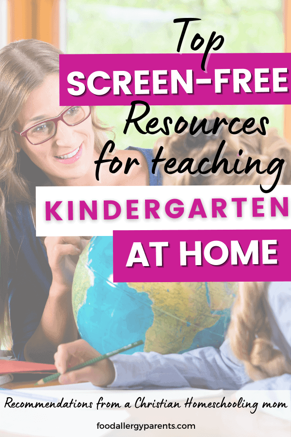 homeschool-resources-kindergarten-beginner-christian-food-allergy-parents-pinterest