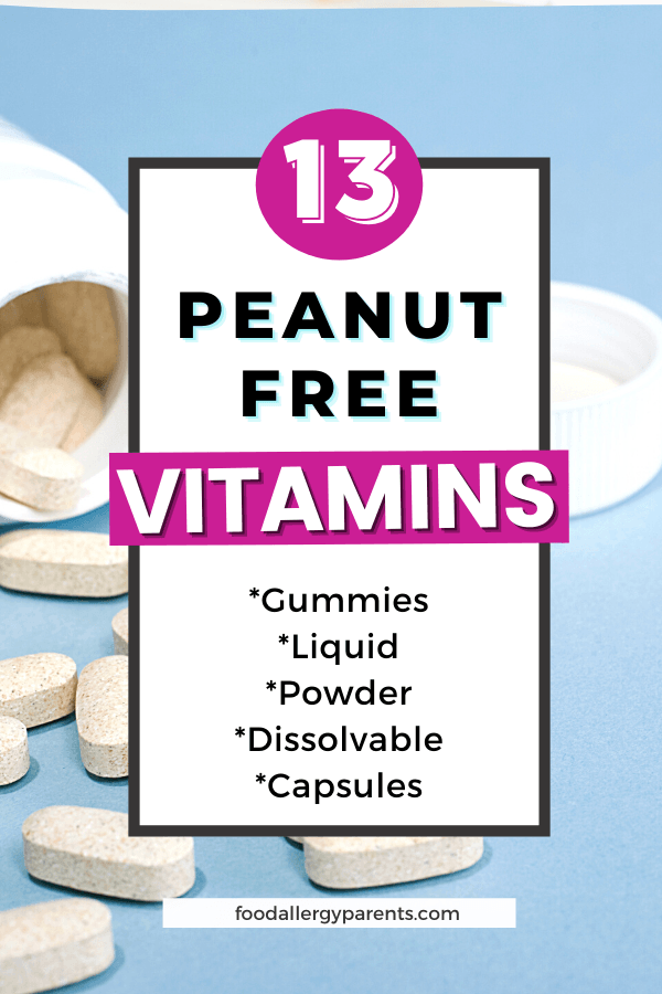 peanut-free-vitamins-kids-adults-food-allergy-parents-pinterest