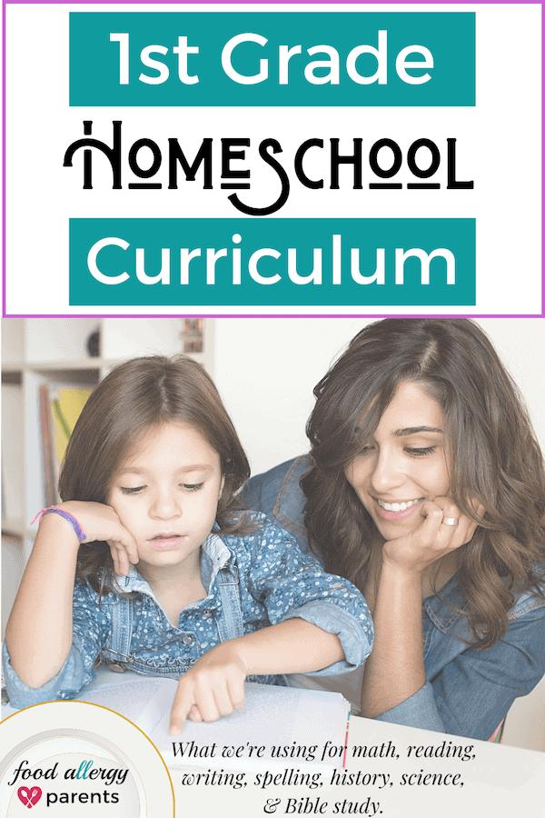 1st-grade-homeschool-curriculum-christian-food-allergy-parents-pinterest