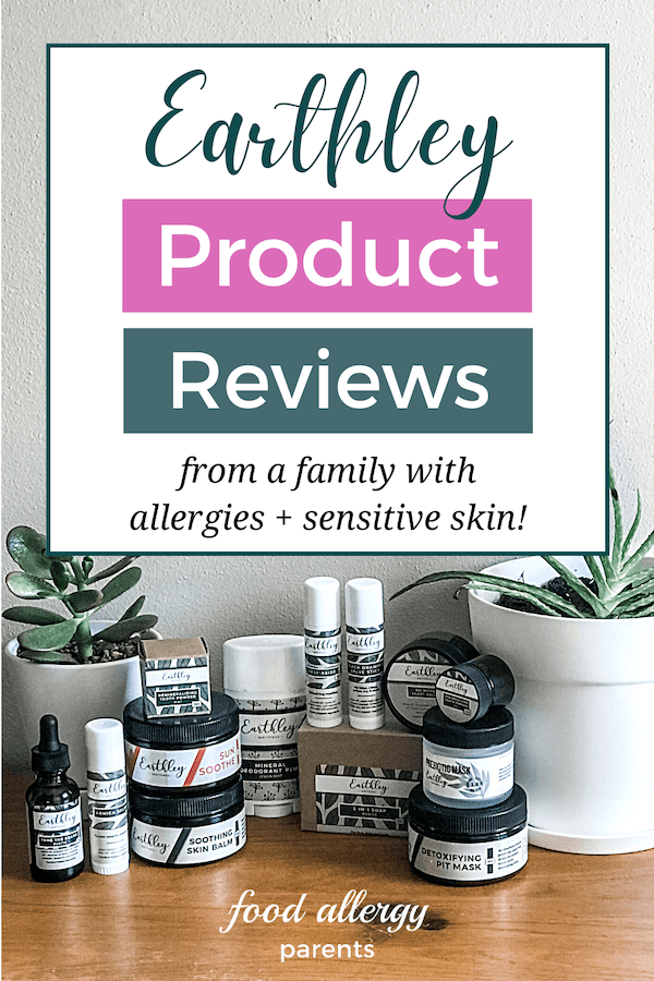 Earthley Product Reviews Allergies Sensitive Skin