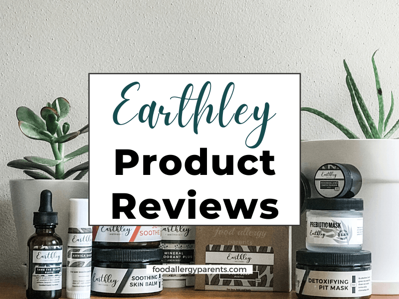 Earthley-product-reviews-natural-skincare-food-allergy-parents-featured-image